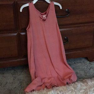 Dresses & Skirts - Pinky coral dress